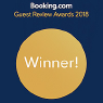 booking.com Guest Preview Awards 2018 Winner!
